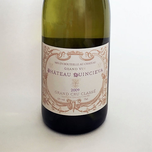 Expensive French - white wine label