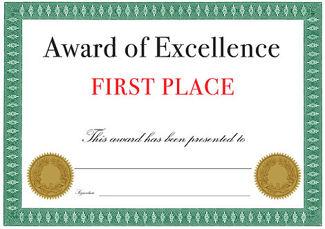 Award of Excellence