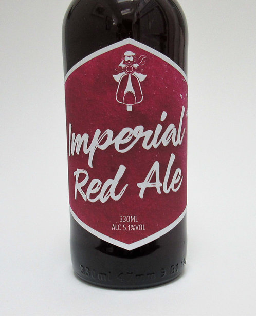 Craft Beer Labels- Imperial Red Ale