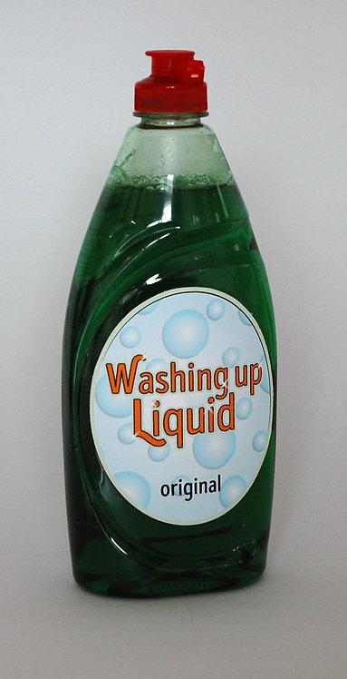 Washing Up Liquid Label
