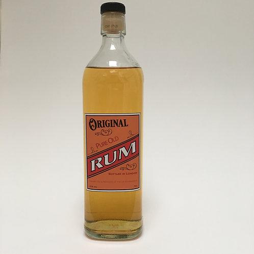 Rum Bottle label - A4 digital Print file