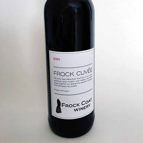 Prop Remedies  Graphic Props  French Cuvee  Red Wine Label