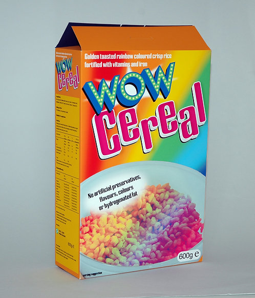 Cereal box - vector outline