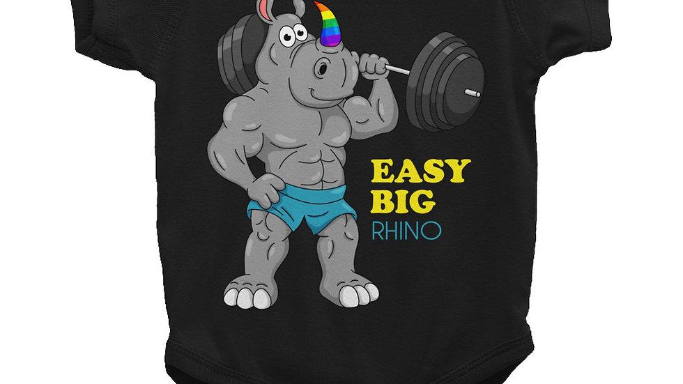 EASY BIG RHINO - Infant Onesie