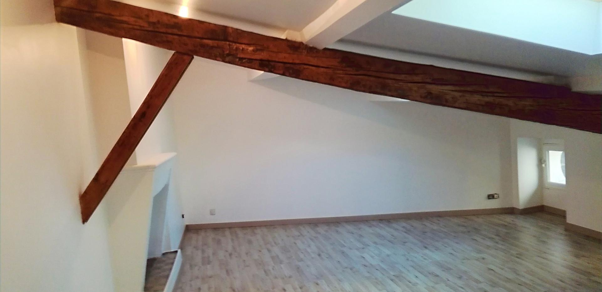 Rénovation studio-combles