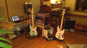 Ian Sheridan, Bassist, Bass player, Music Record Producer,  Mixing Engineer, Seattle, Recording