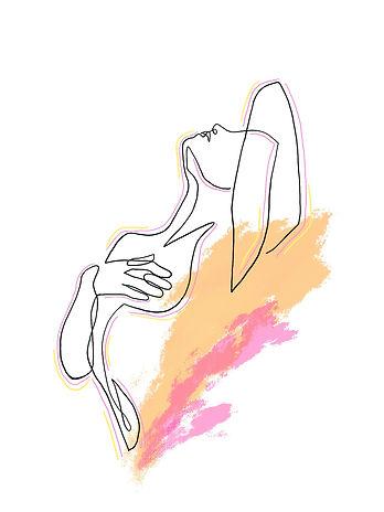 line print, line artwork, bedroom, room decor, decor, wall art, personalised print, print, Eva B Prints, abstract art