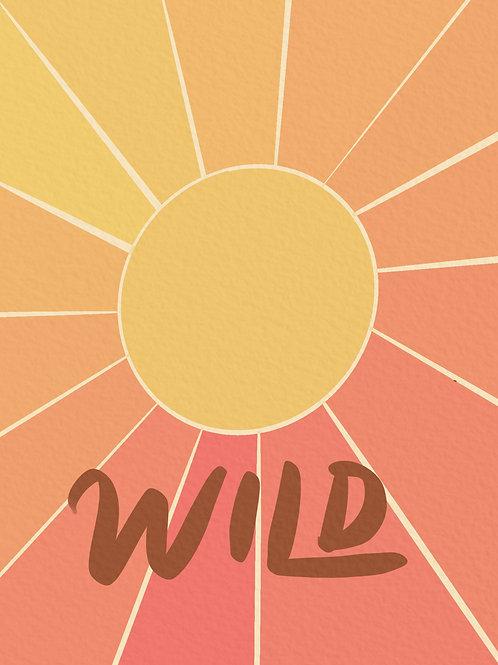 'Wild' Print