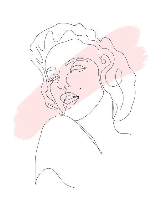 'Marilyn' print