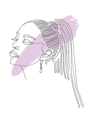 Kendall Jenner, line print, line artwork, bedroom, room decor, decor, wall art, personalised print, print, Eva B Prints, Ariana Grande, Ariana, Ariana grande artwork