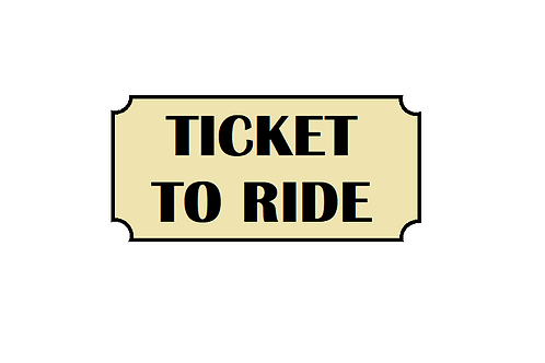 Standard Train Ticket