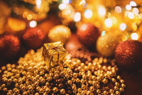 2021 Santa Trains - Gold