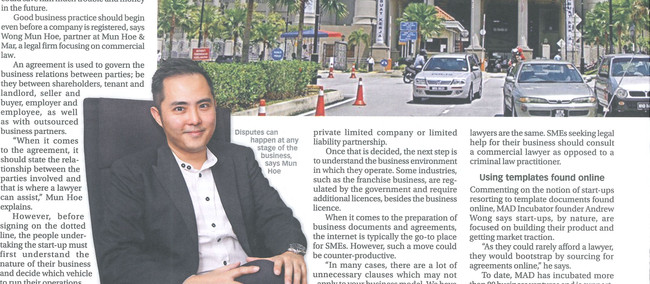Getting things right by the book - Munhoe & Mar (Focus Malaysia, Jan 16-22, 2016)
