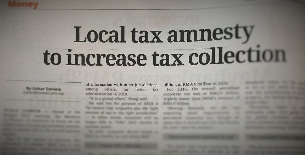 Tax Amnesty Malaysia