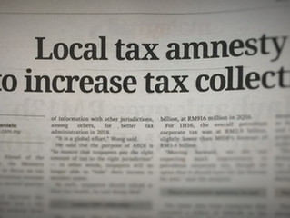 Local tax amnesty to increase tax collection (Malay Mail, 5.9.2016)