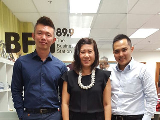 Interview at BFM 89.9 on 'Disrupting Businesses Legally' (2015/ No. 0009)