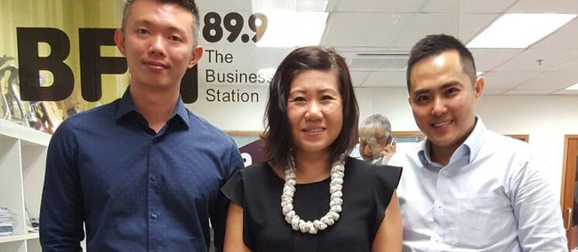 Interview at BFM 89.9 on 'Disrupting Businesses Legally'