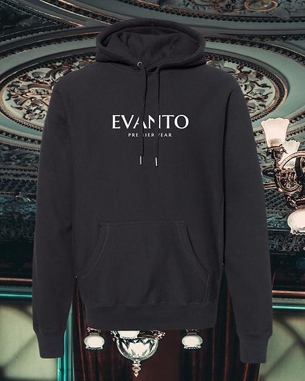 Evanto Premierwear Embroidered Cross-Grain Hooded Sweatshirt