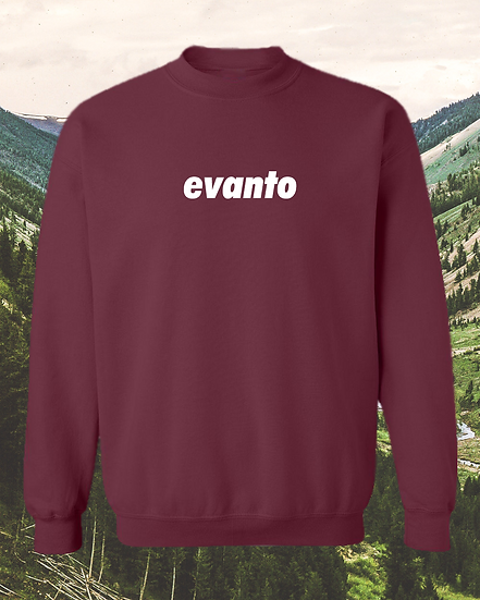Evanto Signature Chest Logo Unisex Crewneck