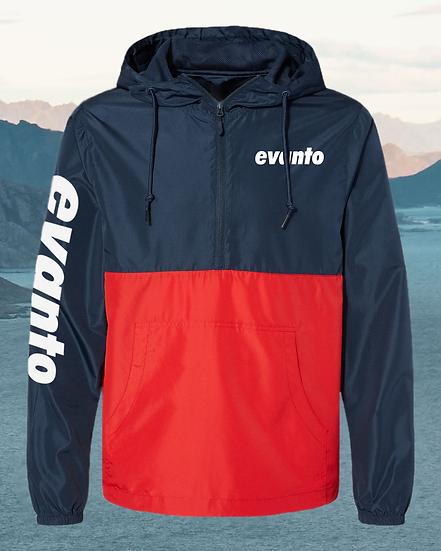 Evanto Unisex Quarter-Zip Windbreaker