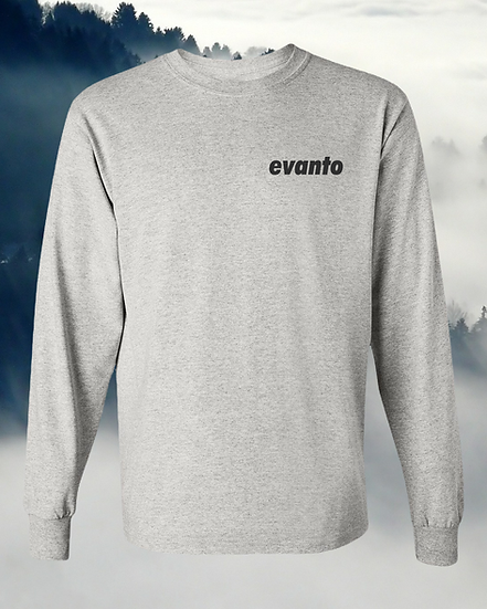 Evanto Signature Unisex Breast Logo Long Sleeve Tee