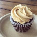 Chocolate peanut butter keto cupcakes RE
