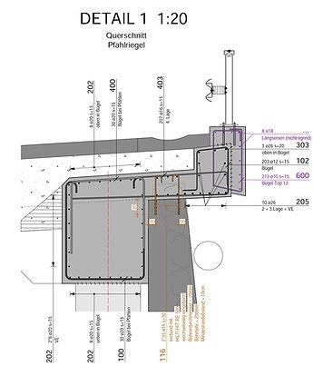 Schalungsplan / Schalungspläne / Armierungsplan / Armierungspläne / Bewehrungsplan / Bewehrungspläne / Zeichnungen Ingenieur / Bauzeichnungen