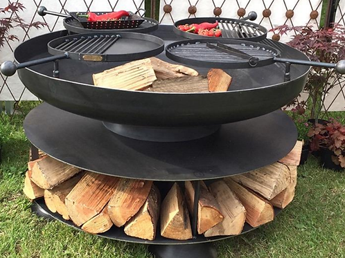 "Ring of Logs 48"" Firepit"