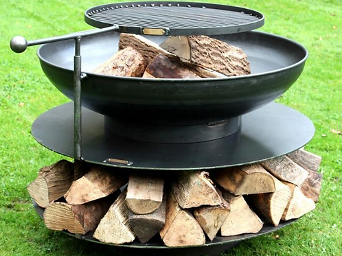 "Ring of Logs 36"" Firepit"