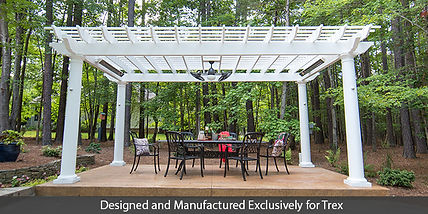 Trex-Pergola-Freestanding-on-Patio-Front