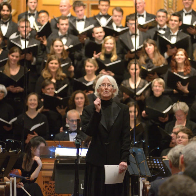 Maggie Brooks with Yale Camerata