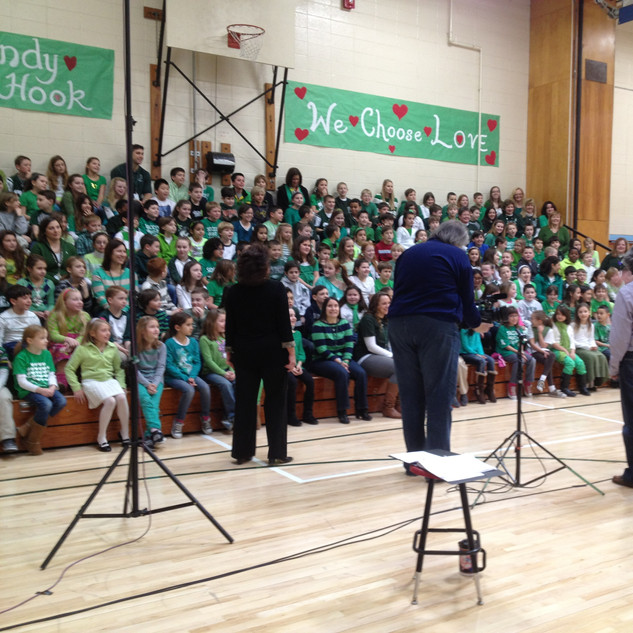 Recording for Benefit Concert for The Victims of Sandy Hook Tragedy,
