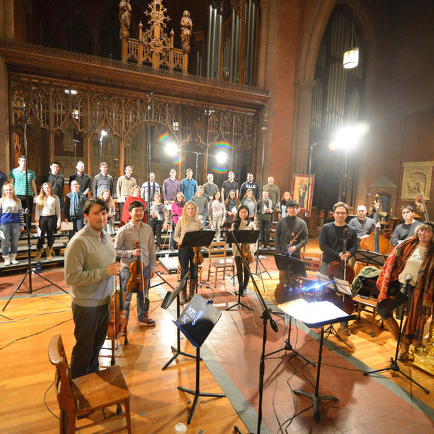 Faure Requiem Session with YSC