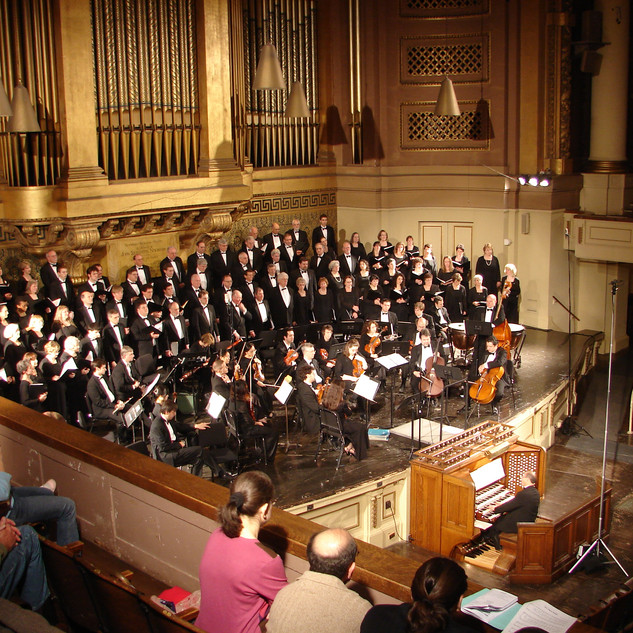 Concert in Woolsey Hall