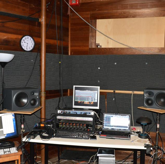 Control Room in Norfolk Music Festival