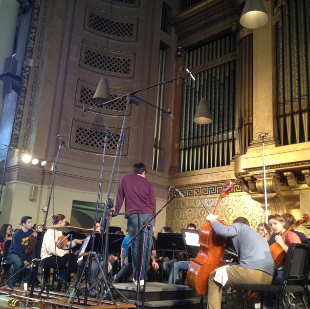 Recording Hindemith with YSO