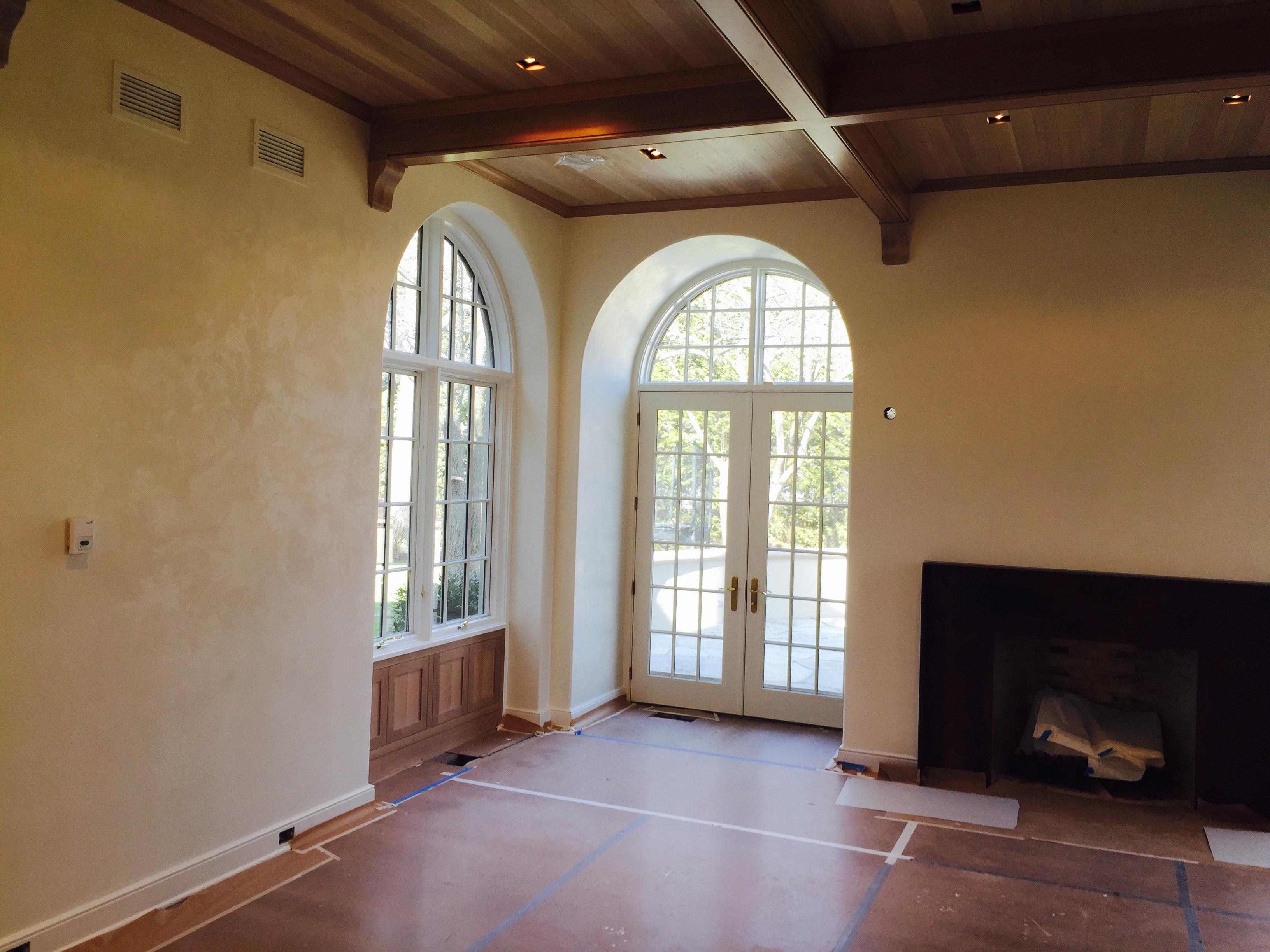 Venetian Plaster Family Room