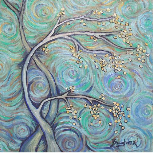 """Elisa Boughner's """"Van Gogh Trees"""""""