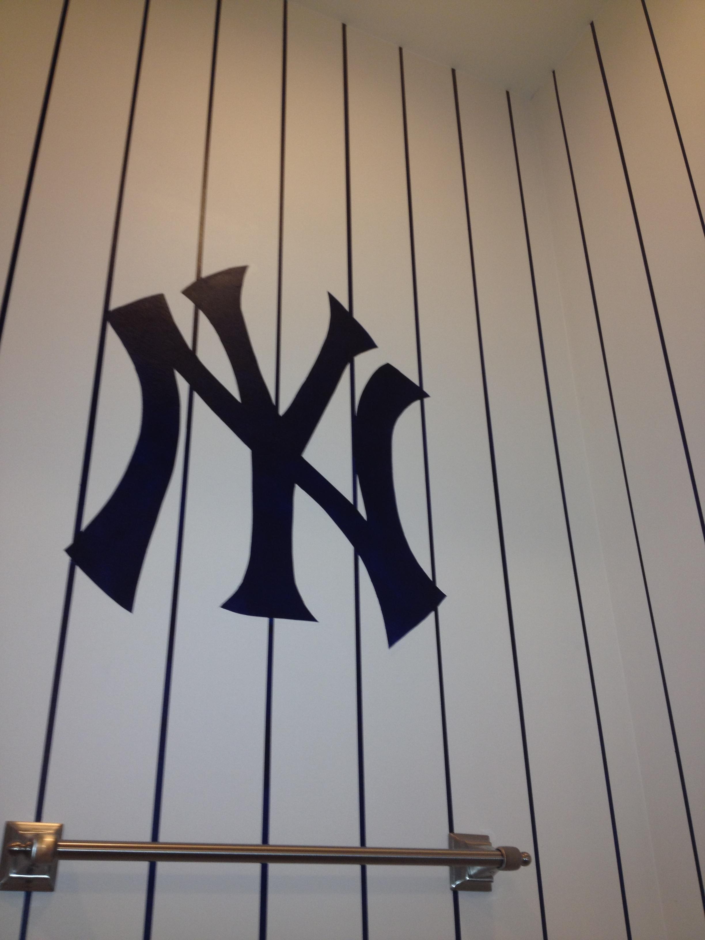 New York Yankees' mural