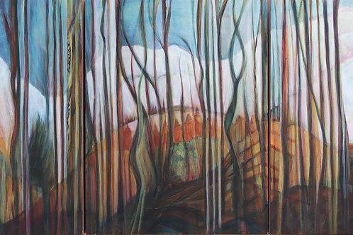 """Linda Rubin Shayman's  """"Landscape2"""""""