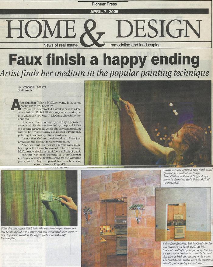 Article in Pioneer Press