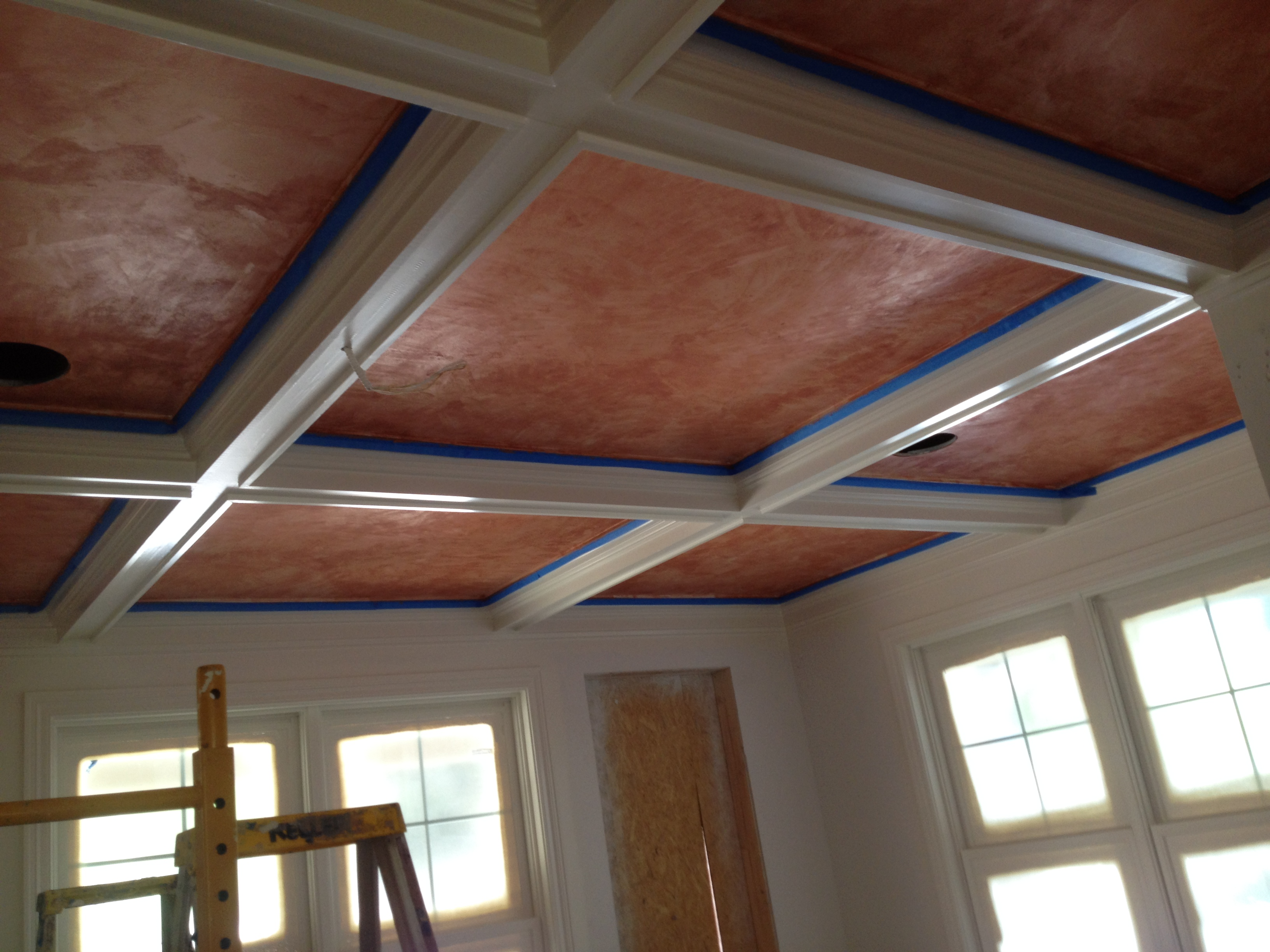 Lusterstone ceiling