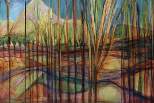 """Linda Rubin Shayman's  """"Landscape1"""""""