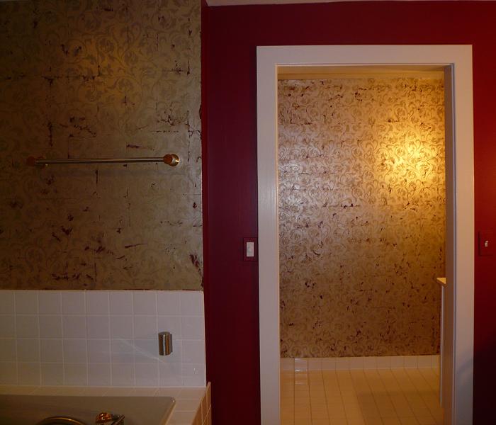 Silver-leaf Bathroom