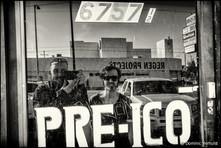 """The Big Lebowski"" Parking Lot.   6757, Santa Monica BLVD, Hollywood - Los Angeles  California"