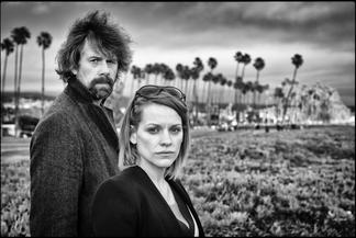 Johan Heldenbergh and Veerle Baetens      Belgian actors                  Santa Barbara, California USA