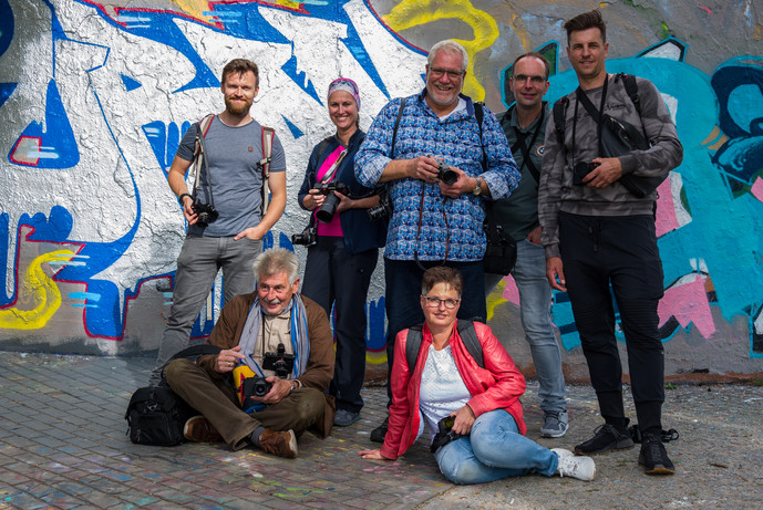 "Workshop Reportage photography - ""The Remains of the Berlin Wall"" -  Leica Akademie Deutschland"