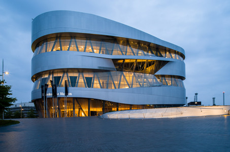 Mercedes Benz Museum  Stuttgart - Germany