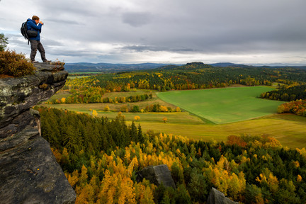 Workshop Nature Photography,  Elbsandstone Mountains National Park, Saxony - Germany