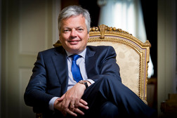 Didier Reynders     Belgian minister foreign affairs
